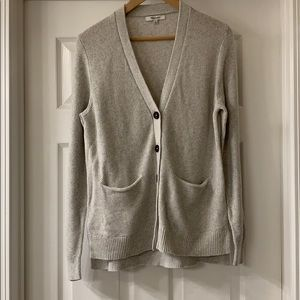 Madewell Textured Button Front Cardigan